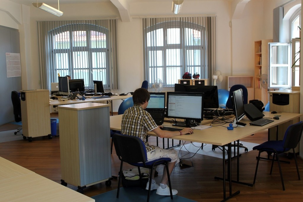 CoWorking in Dresden - Blick ins CoFab
