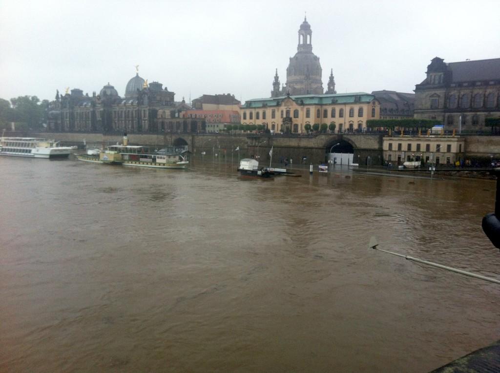 Hochwasserhilfe für Unternehmen in Sachsen