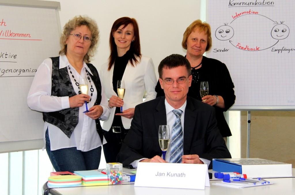 Jan Kunath und das Team von BEITRAINING Dresden-Nord