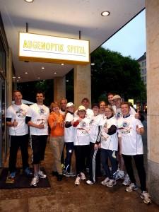 REWE Team Challenge 2013: BNI-Team vor dem Start