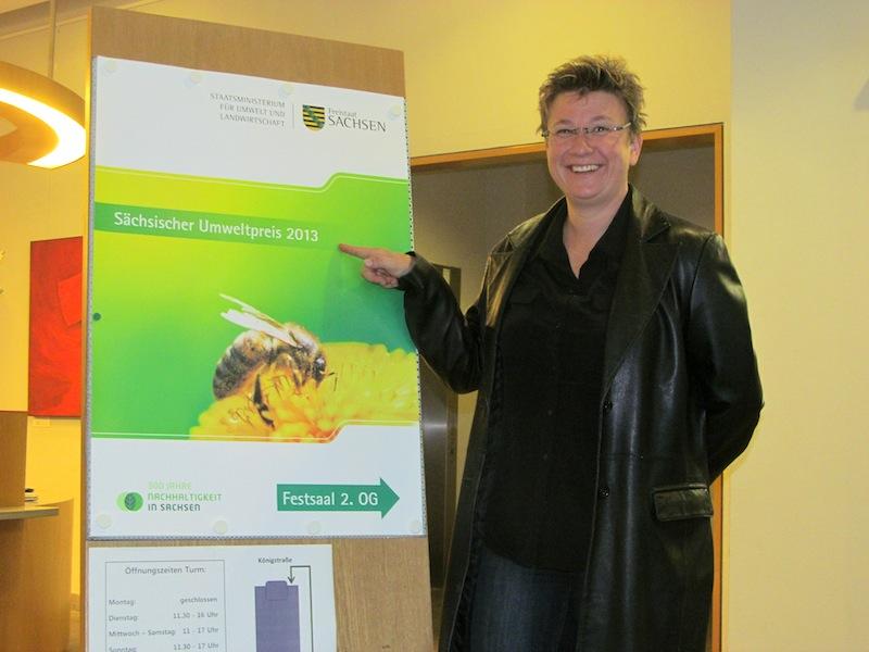 Sächsischer Umweltpreis - Christiane Loch