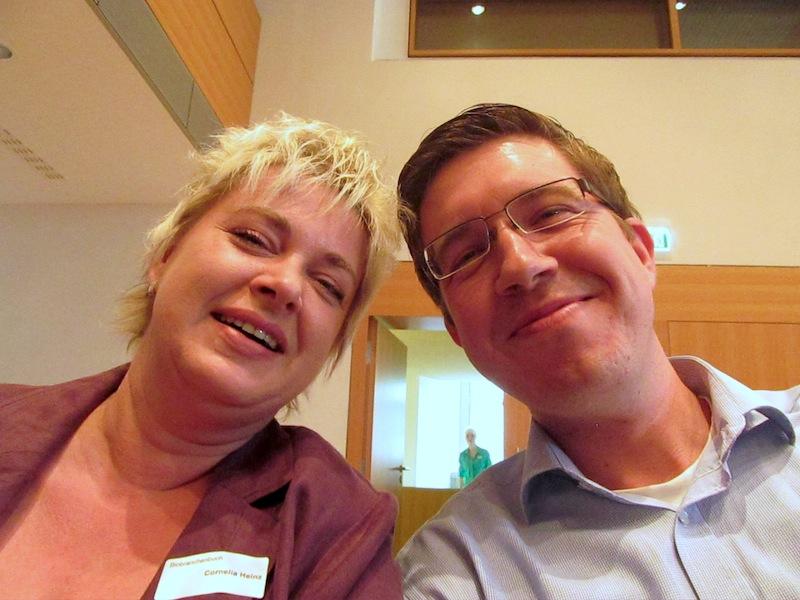 Cornelia Heinz, Thomas Bruckert beim Sächsischen Umweltpreis