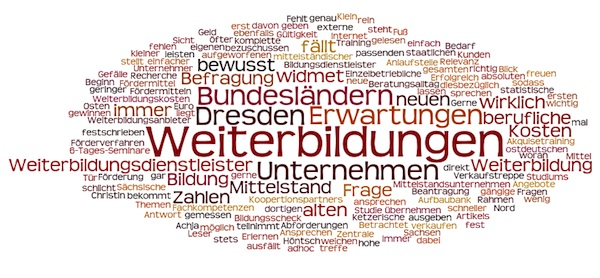 Weiterbildungen lassen sich in Sachsen fördern - Förderprogramm Weiterbildungsscheck betrieblich