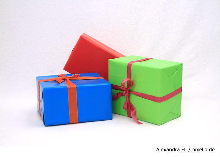 Geschenke von der Steuer absetzen