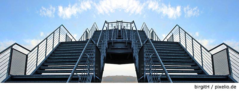 Die Verkaufstreppe; Foto: birgitH / pixelio.de