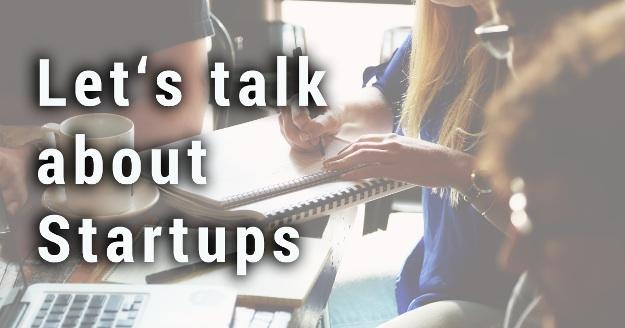 Gründerecho von Chris Kloß - Let's talk about Startups