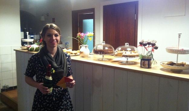 Stolze Besitzerin des Kindercafé Clementine in Bautzen: Annelie Wenzel