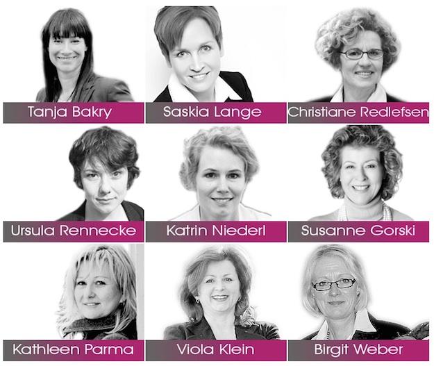Speakerinnen auf dem Unternehmerinnenkongress