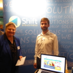 Antje Hermenau, Martin Fobe (Shift E-Business GmbH)