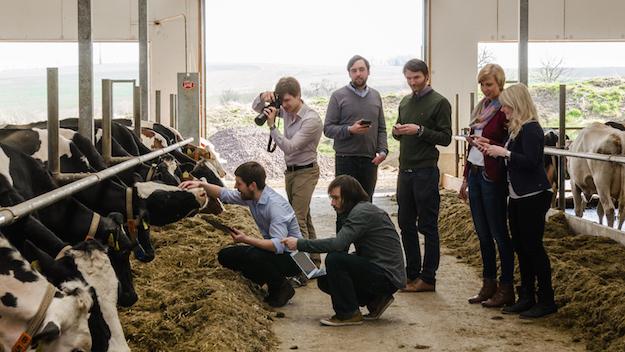 Das Team der fodjan GmbH 2015: M. Theiss, J. Völker, C. Gieseler, D. Schreck, M. Schuetze, J. Albinus, S. Michler