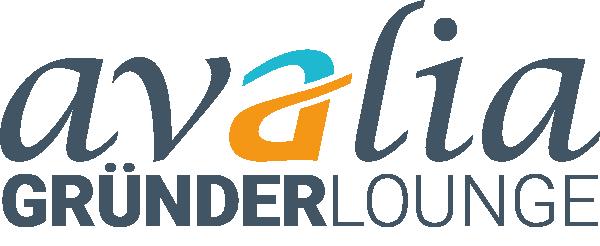 avalia Gründerlounge Logo Orange+Grau